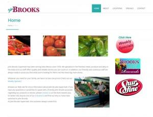John-Brooks-Foods-Suprmarket-Albuquerque-Website-Design-Company-Portfolio