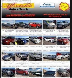 affordable-auto-truck-Albuquerque-Website-Design-Company-Portfolio