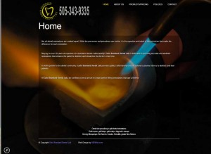 Gold-Standard=Dental-Lab-ABQ-Web-Design-Company-Portfolio